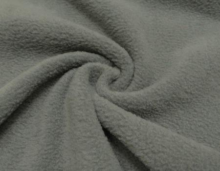 ФЛИС Полартек 390гм серый (100%полиэстер) 150см Китай ручной работы на заказ