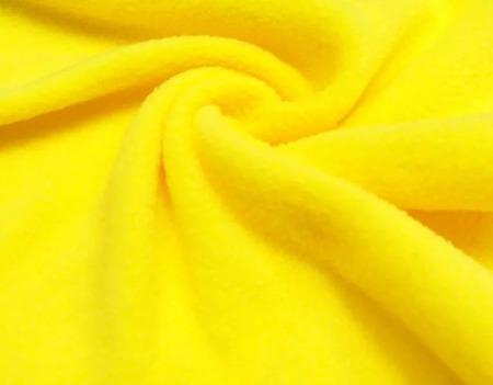 ФЛИС Полартек 390гм желтый (100%полиэстер) 150см Китай ручной работы на заказ