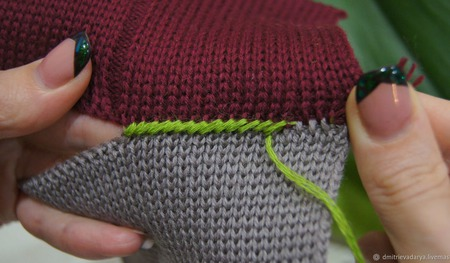 МК швы на репсе и декоративный рулик ручной работы на заказ