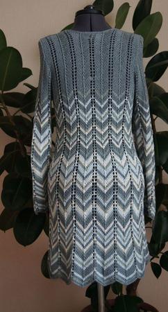 """Платье """"Blue spruce"""" ручной работы на заказ"""