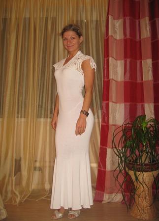 """Платье """"Элегантность"""" ручной работы на заказ"""