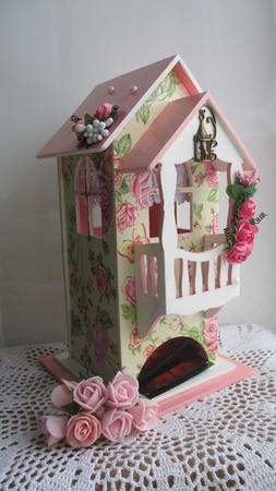 """Чайный домик """"Розовые фантазии"""" ручной работы на заказ"""