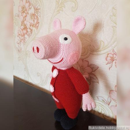 Свинка Пеппа ручной работы на заказ