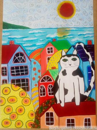 Евпаторийский кот ручной работы на заказ