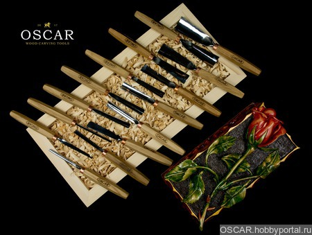 Набор стамесок OSCAR  SET15 ручной работы на заказ