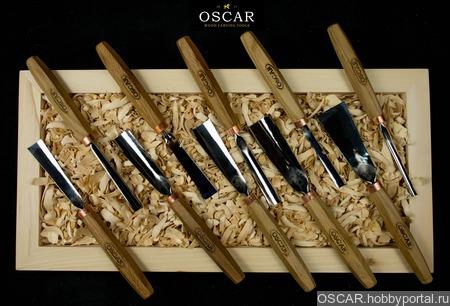 Набор стамесок OSCAR  SET10 ручной работы на заказ