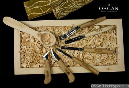 Набор для вырезания ложек OSCAR set6 ручной работы на заказ