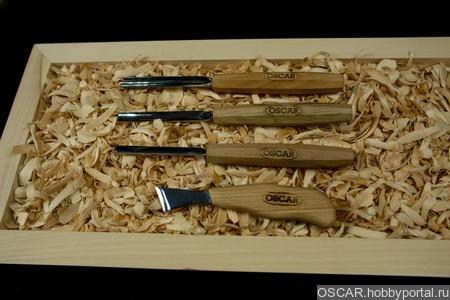 Набор стамесок OSCAR  SET4 ручной работы на заказ