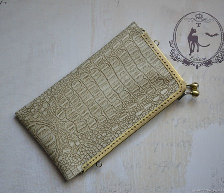 Клатч,чехол для документов,для телефона ручной работы на заказ