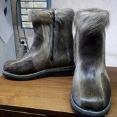 Ботинки из камуса оленя