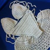 Купальник раздельный и юбочка комплект пляжный