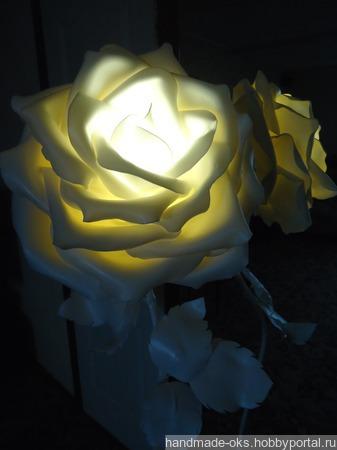 Светильник-торшер ручной работы на заказ
