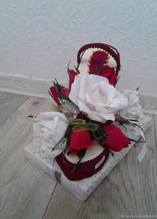 Туфелька с конфетами для  любимой Золушки ручной работы на заказ