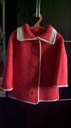 Пальто для девочки ручной работы на заказ