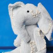 Карманный слоник Тедди
