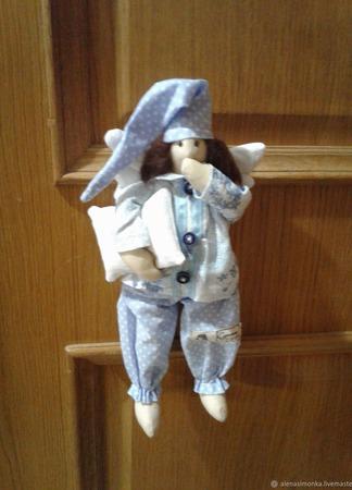Сонный ангел тильда ( сплюшка) ручной работы на заказ