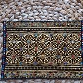 Обложка на паспорт ручная роспись натуральная кожа