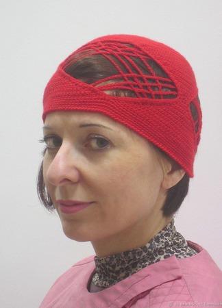 Эксклюзивная шапочка, вязаная крючком ручной работы на заказ