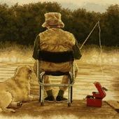 """Вышивка """"Dimensions Fishing Buddies"""" (Рыболовные приятели)"""