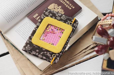 Обложка на паспорт ручной работы на заказ