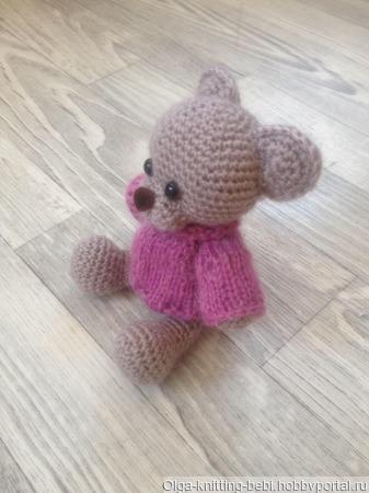 Игрушка мишка ручной работы на заказ