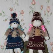Куклы вязаные крючком