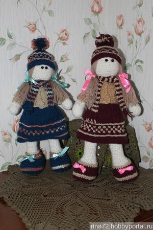 Куклы вязаные крючком ручной работы на заказ