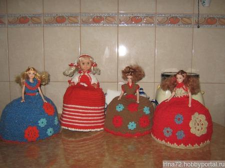 Кукла на чайник ручной работы на заказ