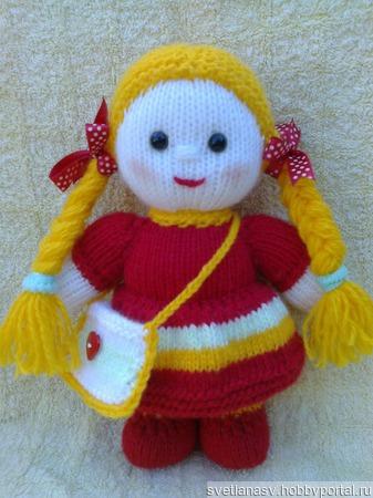 Куколки вязаные ручной работы на заказ