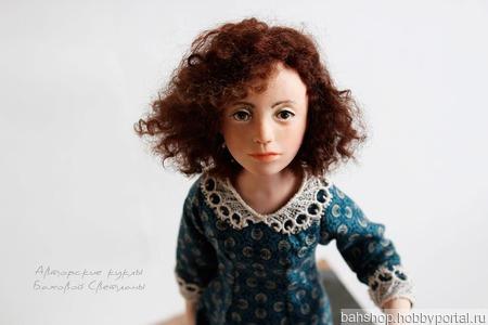 """Каркасная авторская  кукла """" Соня"""" ручной работы на заказ"""