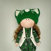 Текстильная кукла Лера