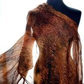 Шарф женский шелковый