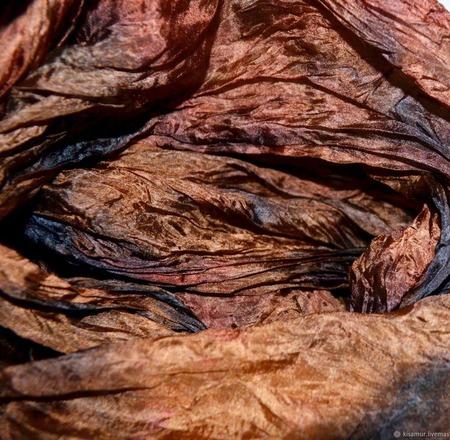 Шарф женский шелковый ручной работы на заказ