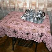 """Скатерть """"Розовое чаепитие"""""""