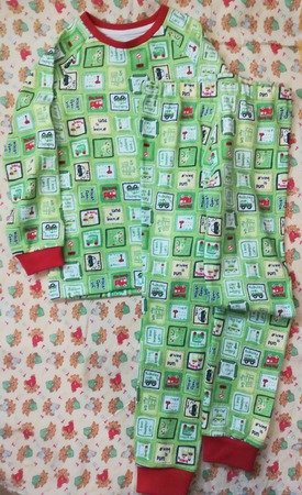 Пижама для мальчика ручной работы на заказ