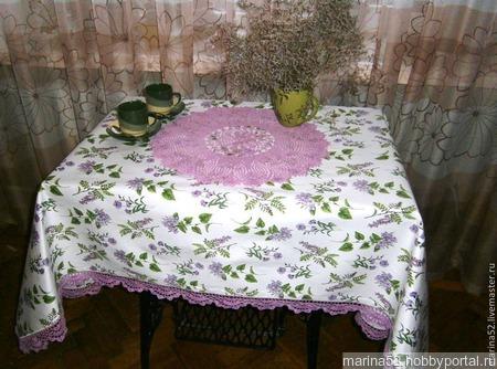 """Набор столового белья """"Утро в Провансе"""" ручной работы на заказ"""