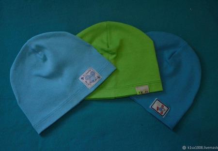 Трикотажные шапчки ручной работы на заказ