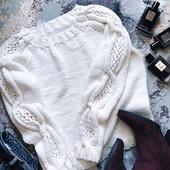 Кашемировый свитер ручной работы