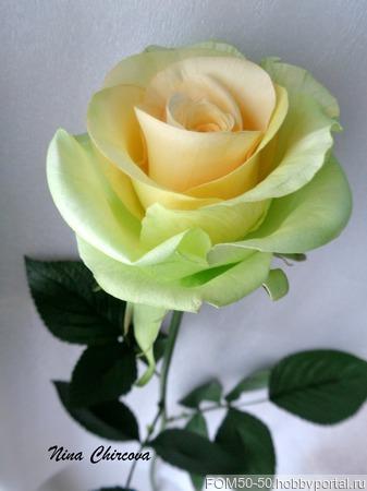 Розы из фоамирана ручной работы на заказ