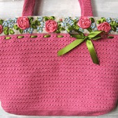 фото: Женские сумки — сумки и аксессуары (розы)