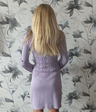 """Платье """"Ажурное с розочками"""" ручной работы на заказ"""