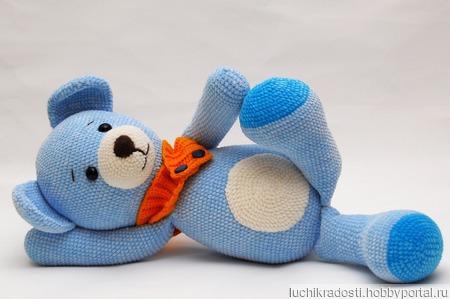 Мягкая игрушка Мишка ручной работы на заказ
