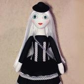 фото: Коллекционные куклы — куклы и игрушки (атласная лента)
