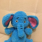 Игрушка вязаная Слонёнок