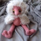 Игрушка страусёнок