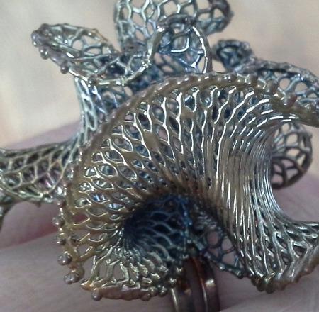 """Кольцо """"Волшебный цветок"""" ручной работы на заказ"""