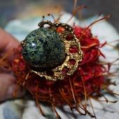 """Кольцо """"Морские водоросли"""""""