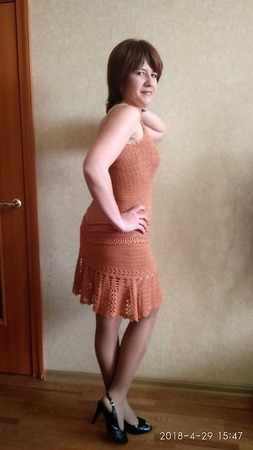 """Платье по мотивам """"Long Reaf"""" ручной работы на заказ"""