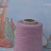 Итальянская пряжа MILL art GAMMA GOLD розовато-сиреневый