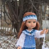 "Комплект одежды для куклы Paola Reina ""Снегурочка"""